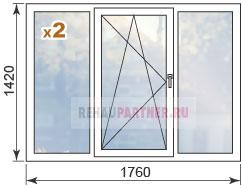 Купить окна для дома П 44 Т