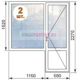 Цены на окна для квартир в домах ПД-4