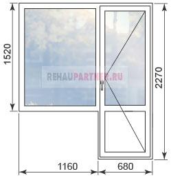 Цены на окна ПВХ в типовых домах ПД-4
