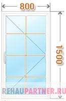 Цена на окна с раскладкой