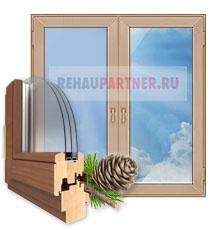 Деревянные окна в Балашихе
