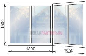 Цены на остекление балконов и лоджий в Дедовске