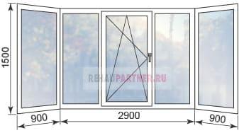 Цены на остекление балконов в Дмитрове