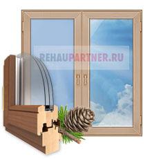 Деревянные окна в Дзержинском