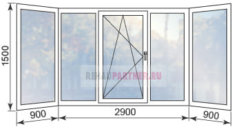 Купить окна на балкон в Голицыно