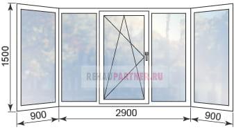 Цены на остекление балконов в Клину