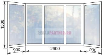 Цены на остекление балконов в Раменском