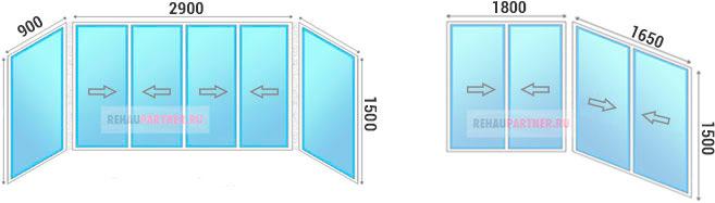 Застеклить балкон 3 метра алюминиевым профилем по низкой цене