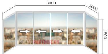 Купить остекление балконов