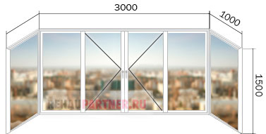 Остекление балконов цены