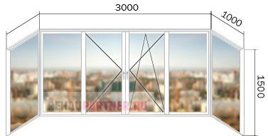 Заказать остекление балконов