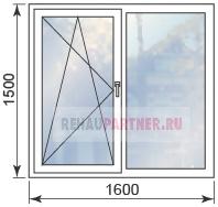 Цены на пластиковые противовзломные окна