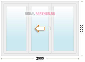 Цена на раздвижные стеклянные двери для террасы