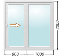 Цены на раздвижные балконные двери