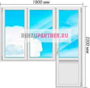Цена на окна Рехау Делайт Дизайн