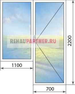 Купить окна Рехау Евро Дизайн