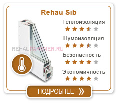 Сравнение Rehau Grazio и Sib Design