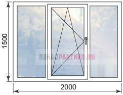 Цены на окна из профиля Rehau Intelio 80