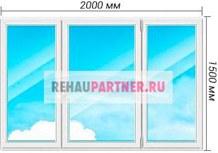 Цены на окна Rehau Sib Design
