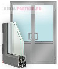 Алюминиевые штульповые двери