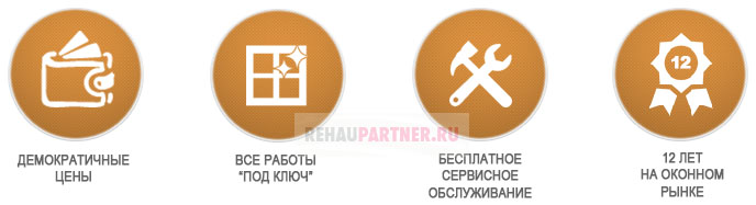 Преимущества компании REHAUpartner