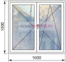 Цены на штульповые окна
