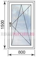 Цены на окна со скрытыми петлями