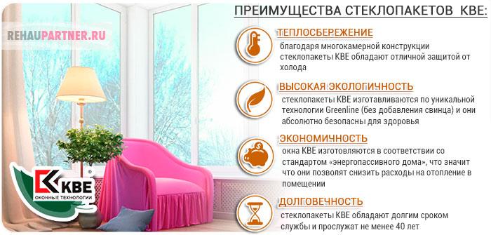 Cтеклопакеты КБЕ