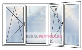 Цены на пластиковые окна для террасы