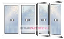 Цены на пластиковые окна Slidors для террасы