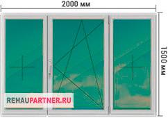 Цена на тонированные алюминиевые окна