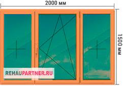 Купить тонированные деревянные окна