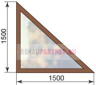 Купить треугольные окна