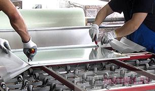 Изготовление стекла триплекс