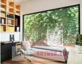 Противовандальные витринные окна в доме